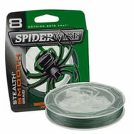 Spider Stealth Smooth Braid Graineen 200 Yards - 20 Lb/8 Lb Diameter