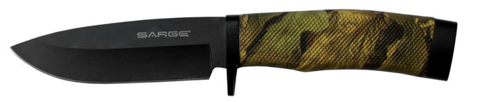 Sarge Fixed Blade Knife Nitefall Camo 4.5