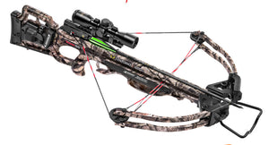 Ten Point Crossbow Titan SS Pro- View 2 Scope Acudrew-50 MO- treestand Camo