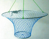 Taitex Pier Big Crab/Fish Net Heavy Duty 2 Ring 32 X 12 Rigged