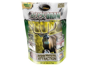 Wildgame Game Attractant Buck Bran 5Lb Bag Order 3