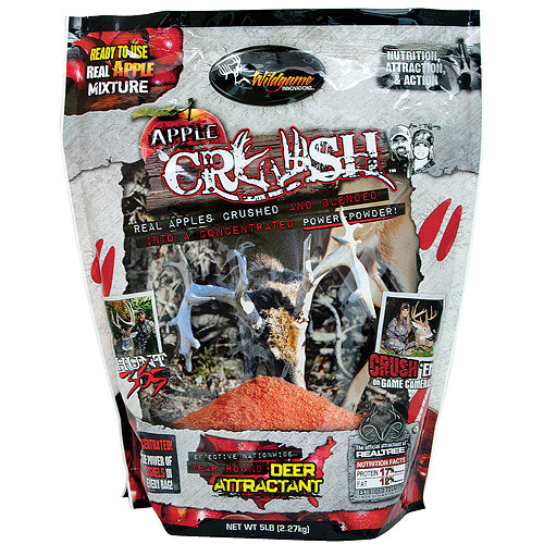 Wildgame Game Attractant Apple Crush Mix 5Lb Bag Order 3
