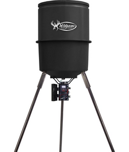 Wildgame Game Feeder Quick Set 225 Lb Feeder With Tripod
