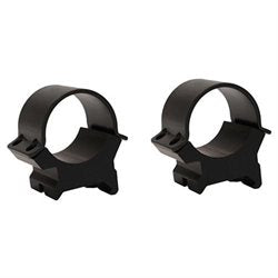 "Weaver Sure Grip Rings 1"" High Matte Black"