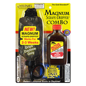 Wildlife Game Scent Dripper Scrape Mag 4 Oz Active Scrape