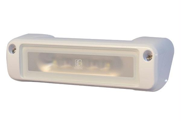 Lumitec Perimeter Flood Light White Housing White-Amber Flas