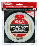 Yo-Zuri Top Knot Fluorocarbon Leader Line Natural Clear 15Lb 30 Yd R1228-NC