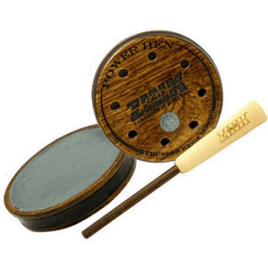 Zink Game Call Friction Power Hen Slate Walnut Dymondwood Striker