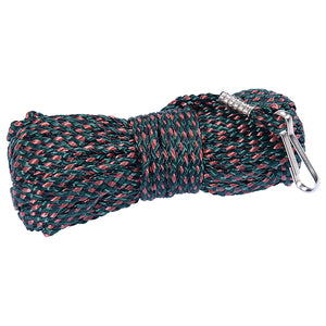 Ameristep Bow Hoist Rope 30' Camo Rope With Clip