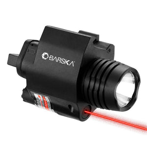 Barska Flashlight/Laser Flashlight W/Red Laser