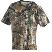 Browning Wasatch T-Shirt - Short Sleeve Realtree Xtra Cotton/Poly Small
