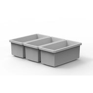 "Buzbe 3 Customizable 1 x 2 Bins (1.6"" x 3.56"")"