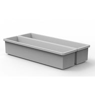 "Buzbe2 Customizable 1 x 4 Bins (1.6"" x 7.5"")"