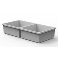 "Buzbe 2 Customizable 2 x 2 Bins (3.56"" x 3.56"")"