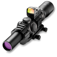 Burris MTAC 1-4X24 Rifle Scope with Fastfire