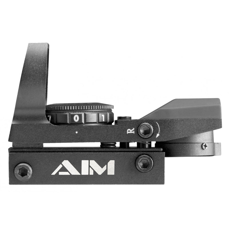 AIM Sports Reflex Sight - Dual Illuminated 4 Reticles