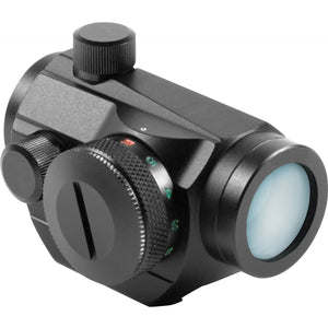 AIM Sports Inc 1x20 Dual Illuminated Micro Dot Reflex Sight W/Adj Windage And El