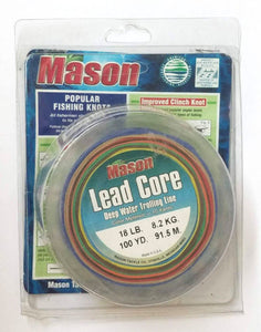 Mason Lead Core Line 18 Lb Marked Every 10 Yards 100 Yards
