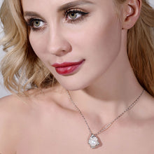 Huge Pearl Pendant 10-11mm Natural White Pearl available in 4 Stunning colors , Sterling Silver Pendant Necklace