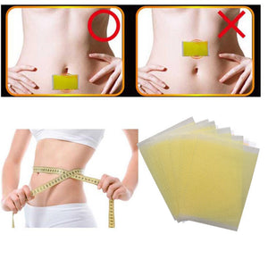 100 Pieces Fat Burning Slimming Navel Stick Patch