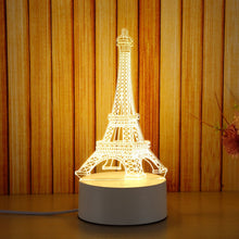 3D Night Light LED Moon Tower