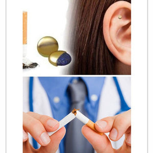Auricular Therapy Magnet Quit Smoking biozereepa Patch Stop Smok ear massager No Cigarettes Health Care Therapy
