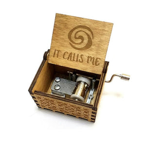Exclusive Hand Crank Music Box