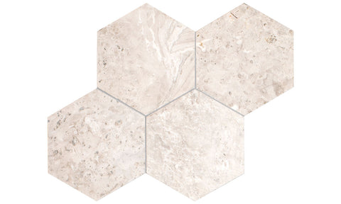 Silver Light Hexagon Tile