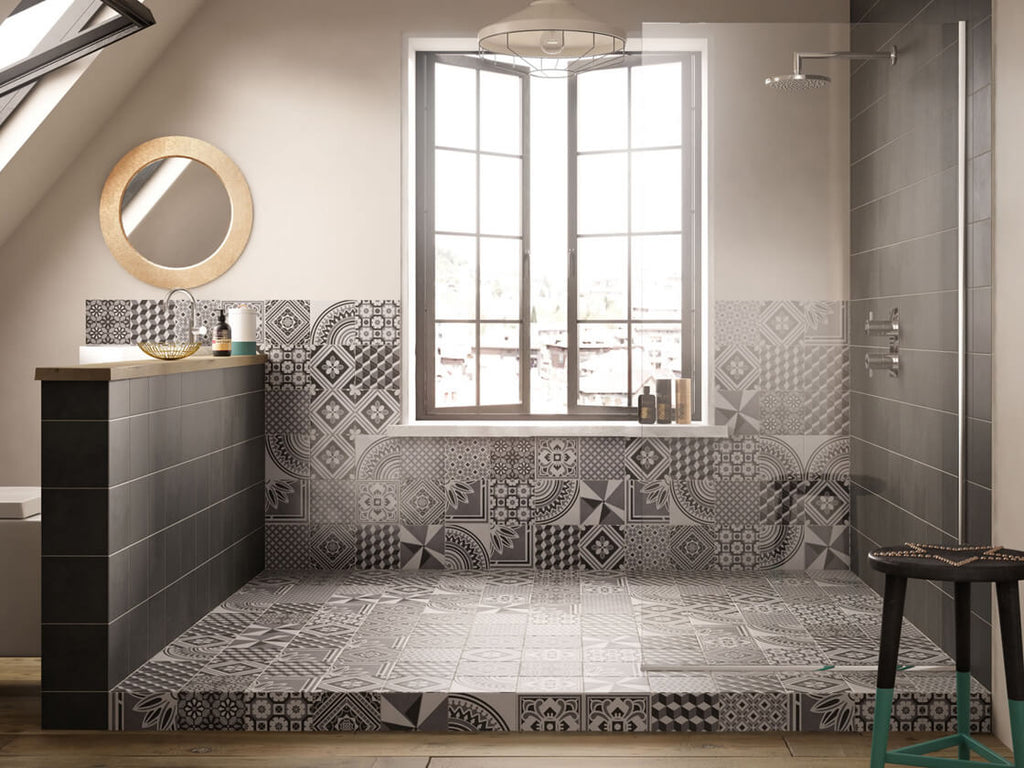 2018 BATHROOM TILE TRENDS MODERN EDWARDIAN BATHROOM TILES