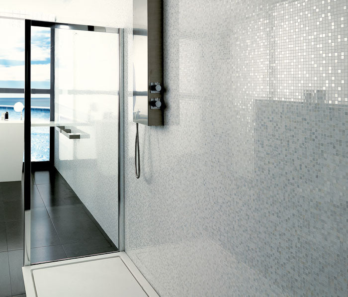 2018 Bathroom Tile Trends Porcelanosa Mosaic Tiles