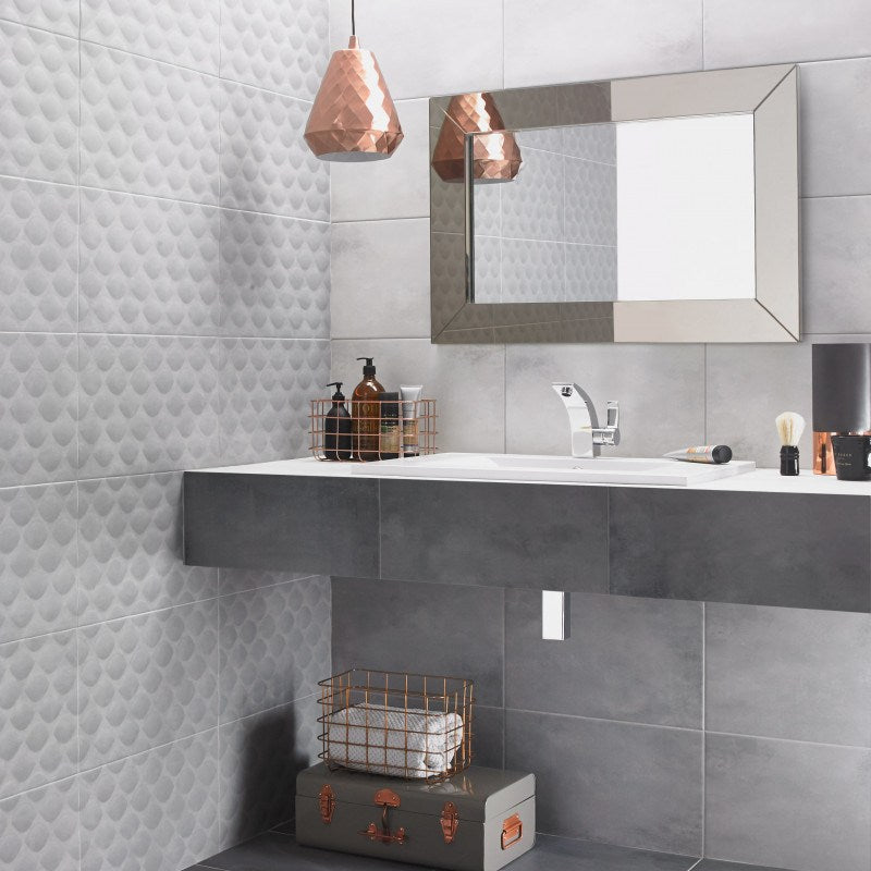 2018 bathroom tile trends Ted Baker Tiles
