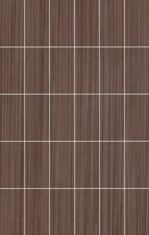 Affinity Coffee Brushed Mosaic Wall Tile