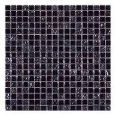 Gemini Mosaics Midnight Metallic Mosaic Tile - 15x15mm (Sheet 300x300mm)