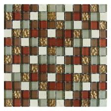 Gemini Mosaics Vegas Stone & Glass Mosaic Tile - 23x23mm (Sheet 300x300mm)