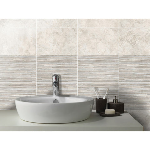 Johnson Tanami Dawn Shadow Satin Linear Ceramic Tile 300 x 200mm