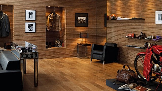 Porcelanosa Liston Oxford Cognac Ceramic wall tiles