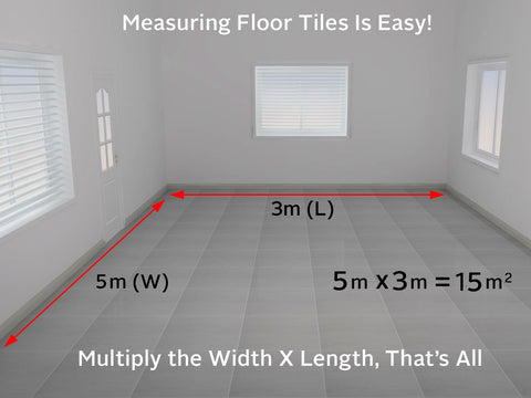 how to calculate tiles needed for a floor