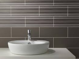 Tones Linear Mocha Mix Wall Tile