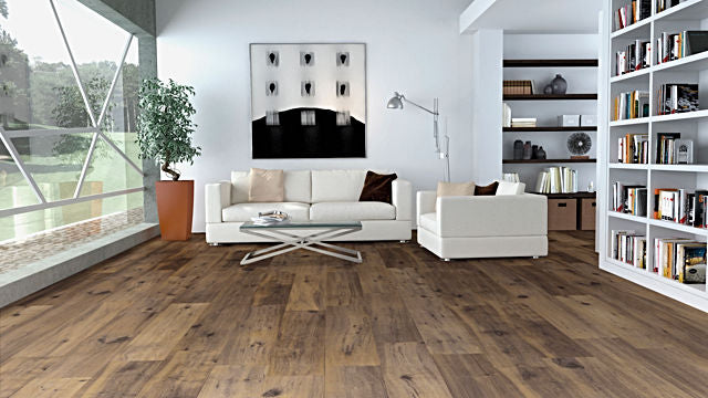 Porcelanosa Nebraska Coffee Floor Tiles 25x150 cm