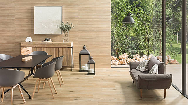 Porcelanosa Nebraska Tea Floor Tiles 25x150 cm