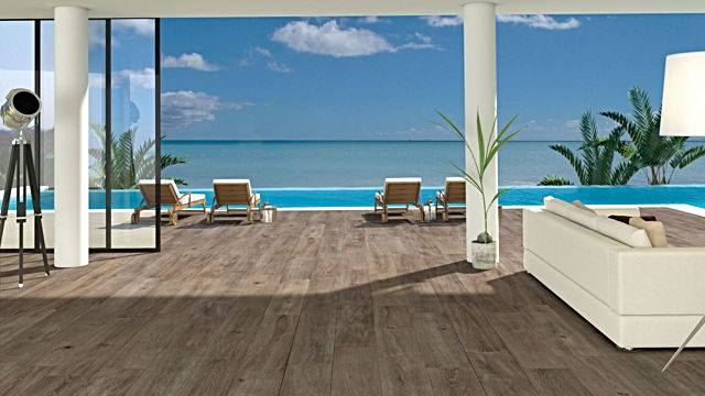 Porcelanosa Tanzania Wine Floor Tiles 25x150 cm