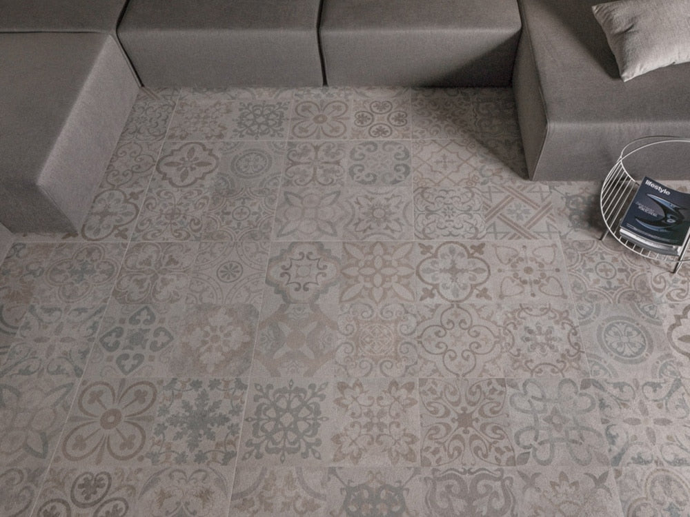 Porcelanosa Deco Frame Clear 59.6x59.6 Tiles