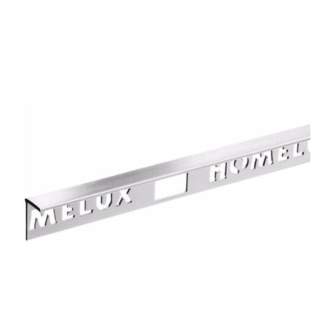 Homelux Aluminium Tile Trim 10mm Silver