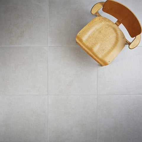 Natural Tones Ecru Floor Tiles 600x600