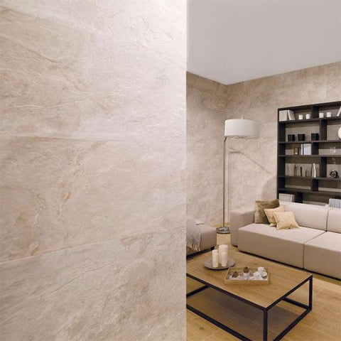 Porcelanosa Mirage Cream Tile 33.3 x 100cm