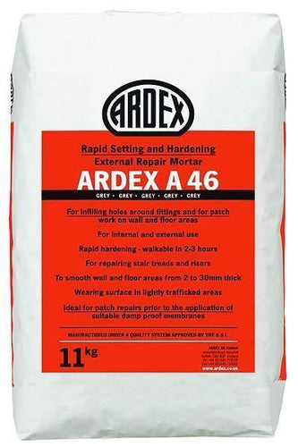 Ardex A46 Rapid Setting Mortar Repair