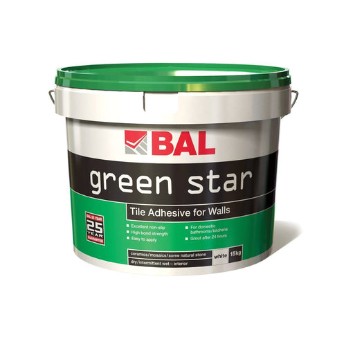 BAL Green Star Plus Adhesive 15kg