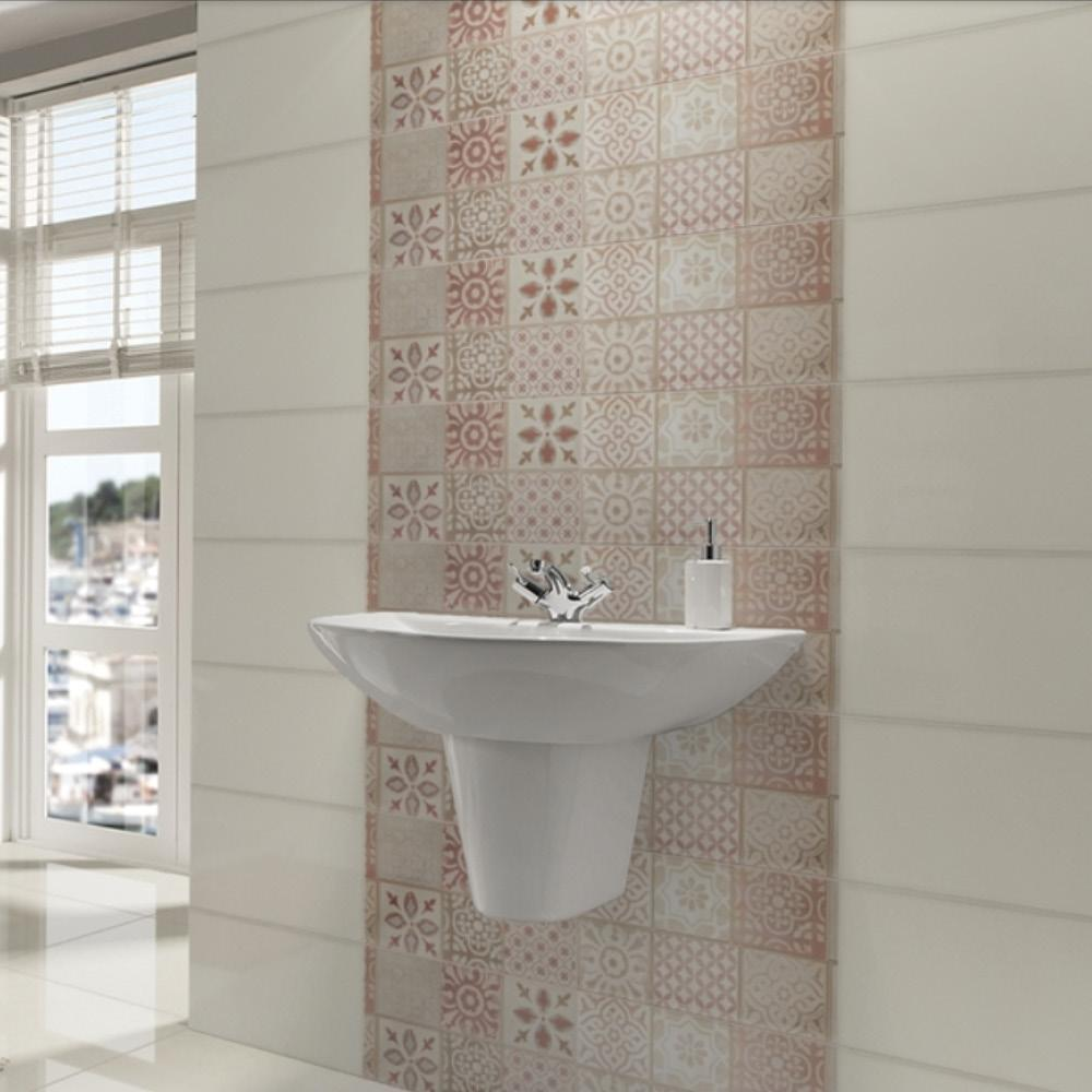 Frame Cream Tile - 760x250mm - (m2)