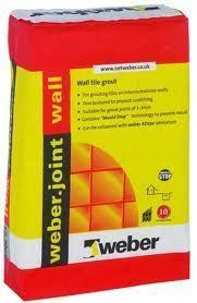 Weber Joint Wall White Grout 12.5KG