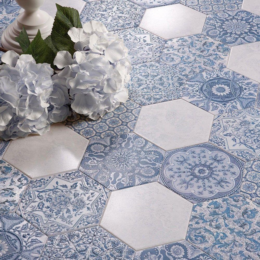 Argila Hexagon Origine-A (White/Blue)